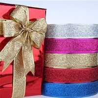 Christmas Xmas Gift Packag Ribbon Christmas Tree Hanging Bows Ribbon Decoration