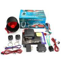 Universal Car Auto Burglar Alarm Protection Security System Keyless 2 Remote