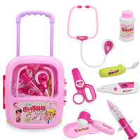 Kids Pretending Doctor's Medical Playing Set Case Education Kit Boys Girls Toys