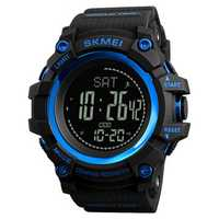 SKMEI 1356 Compass Pedometer World Time Sport Digital Watch