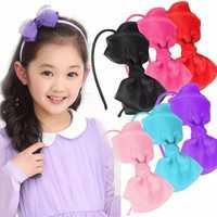 Girl Lady Bowknot Ribbon Headbrand Hair Band Hair Accessories Tool