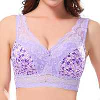 Large Size Wireless Soft Leisure Vest Bra