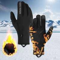 Outdoor Sports Bike Motorcycle Winter Warm Finger Gloves Windproof Waterproof Anti-slip Thermal Touchscreen Gloves