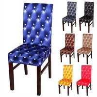 Honana WX-990 Elegant Spandex Elastic Stretch Chair Seat Covers for Party Weddings Decor Dining Room Chair Cover