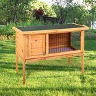 Meilleurs prix Wooden Rabbit Hutch Waterproof Indoor Outdoor Rabbit House Chicken Coop Hen House Poultry Pet Cage Bed