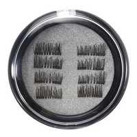 8Pcs/2 Pairs Dual Magnetic 3D False Eyelashes Long Natural Eyelashes Extension