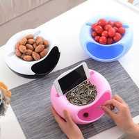 Honana HN-B20 Multifunction Storage Box Fruit Snacks Nut Holder Home Organizer Accessories