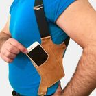 Acheter au meilleur prix Men 6.3 Inch Phone Bag Holster Anti-theft Casual Bag