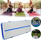 Acheter 200x200x20cm Inflatable Gymnastics Mat Airtrack Yoga Mattress Floor Tumbling Pad Gym Exercise