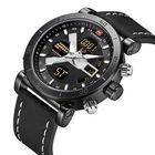 Meilleurs prix NAVIFORCE 9132 Luminous Calendar Dual Display Digital Watch