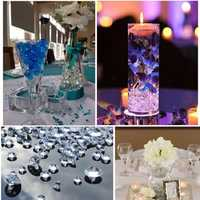 Wedding Decorations 1000PCS 4.5mm Acrylic Crystals Confetti Wedding Table Scatters Decoration Event Party Centerpiece