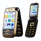 Acheter au meilleur prix BLT V998 2.6'' 2000mAh Dual Touch Screen Dual SIM Magic Voice Flip Feature Phone
