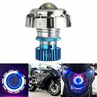 Meilleurs prix 12V LED Projector Kit Hi/Low Beam Headlight Angel Devil Eye Motorcycle
