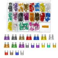 220Pcs Auto Assorted Mini & Standard Blade Fuses ATM ATO Fuse Set 2-35A