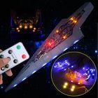 Acheter au meilleur prix DIY LED Rigid Strip Light Kit ONLY For LEGO 10221 Star Wars Super Star Destroyer Bricks Toy With Remote Control