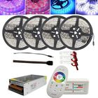 Prix de gros 4x5M SMD5050 Non-waterproof LED Strip Light+2.4G RF Remote Controller+DC12V Lighting Transformer