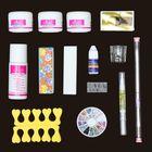 Meilleurs prix 14 Acrylic Powder Nail Art Set
