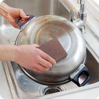 Honana Emery Sponge Brush Eraser Cleaner Kitchen Rust Cleaning Tool