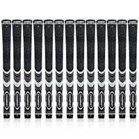13Pcs/set Golf Clubs Rubber Grip Standard Midsize Grips 600 Round Anti-Slip 9 Colors