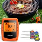 Meilleurs prix 6 Probes Wireless Smart BBQ Thermometer Oven Meat Food bluetooth Wifi For IOS Android