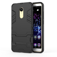 Bakeey Hybrid Shockproof TPU+PC Armor Holder Protective Case For Xiaomi Redmi 5