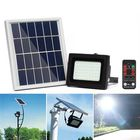Meilleurs prix 400LM 54 LED Solar Panel Flood Light Spotlight Project Lamp IP65 Waterproof Outdoor Camping Emergency Lantern With Remote Control