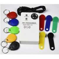 TM RFID Reader Copier Duplicator handheld RW1990 TM1990 TM1990B ibutton DS-1990A I-Button 125KHz EM4305 T5577 EM4100 TM card Reader