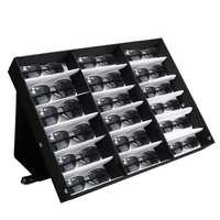 18 Sunglasses Reading Glasses Eyewear Display Stand Storage Box Case Retail Shop
