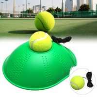 Tennis Training Tool Rebound Trainer Self-study Exercise Ball Baseboard Holder