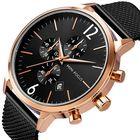 Meilleurs prix MINI FOCUS MF0185G Business Style Mesh Steel Quartz Watch