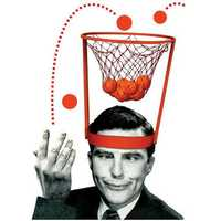 Head Basketball Hoop Game Circle Shot Plastic Basket Parent - Child Interactive Toys Hat