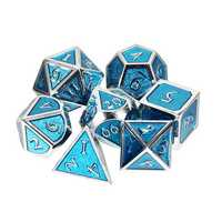 Multisided Dices Solid Metal Heavy Dice Set Polyhedral Dices Role Playing Games Dice Gadget RPG