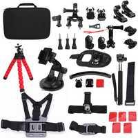 33 In 1 Sportscamera Accessories Kit For Gopro Hero 2 3 4 3 Plus SJcam SJ4000 5000 6000 Xiaomi Yi Sportscamera