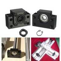 Machifit 2pcs BK12 BF12 Ball Screw End Supports for Ball Screw SFU1605 CNC XYZ Parts
