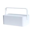 Acheter au meilleur prix MUID Makeup Mirrors Storage Box Dressing Table Lamp LED Light Portable Cosmetic Case Skin Care Products Storage Box
