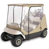 210D Oxford Cloth+PVC Golf Cart Cover Rain 2 Passenger For Club Car Classic Accessories
