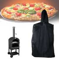 160x37x50cm Outdoor Pizza Oven Cover Cooking Stove Waterproof Dust Rain UV Proof Protector