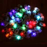 50Pcs/Lot LED Lamps Balloon Lights for Paper Lantern Balloon Multicolor Christmas Party Decor