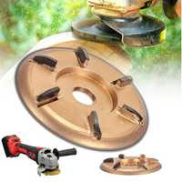 Woodworking Turbo Plane Power Wood Carving Tool Attachment For Angle Grinder