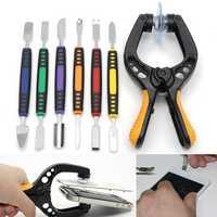 7 in 1 Phone Repair Tool LCD Screen Opening Tool Plier Suction Cup Pry Spudger Repair Kit Set