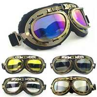 Retro Vintage Motorcycle Helmet Eyewear Goggles Riding Glasses For Harley
