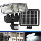 Meilleurs prix ARILUX® Three Head 178 LED Solar Power Flood Wall Light PIR Motion Sensor Outdoor Garden Waterproof Lamp