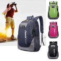 48x30x17cm Unisex Waterproof Travel Backpack Hiking Camping Outdoor Rucksack Shoulder Bag