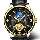 Recommandé TEVISE T820B Casual Moon Phase Automatic Mechanical