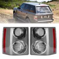 Rear Left/Right Car Tail Light Assembly Brake Lamp White+White for Range Rover Vogue L322 2002-2009
