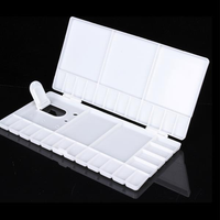 Folding Watercolor Paint Plastic Color Box Pigment Color Box Palette Plate Palette Palette Flip Large