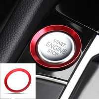 Car Start Engine Stop Button Cover Trim Red for VW Golf 7 MK7 GTI R Jetta CC Arteon