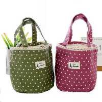 IPRee™ Picnic Hand-held Lunch Tote Pouch Folding Cooler Insulated Handbag Storage Container