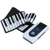 iWord 88 Key Professional Roll Up Piano With MIDI Keyboard