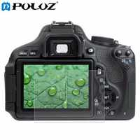PULUZ Camera 2.5D Curved Edge 9H Surface Hardness Tempered Glass Screen Protector for Canon 650D 70D